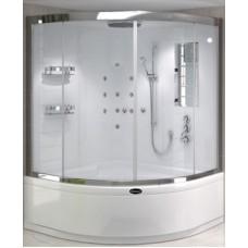 Kompakt Duşakabin Oval Küvet Üstü Seri