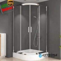 Carmen oval duşakabin 6mm Cam